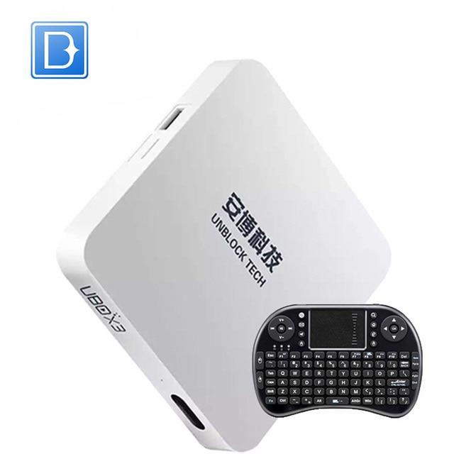 Desbloquear Ubox Android 5.1 TV Box IPTV III UBOX3 pgraded Gen.3 S900 Pro UBTV Smart TV Caja HD 4 K 32 gb Reproductor Multimedia en Red WiFi