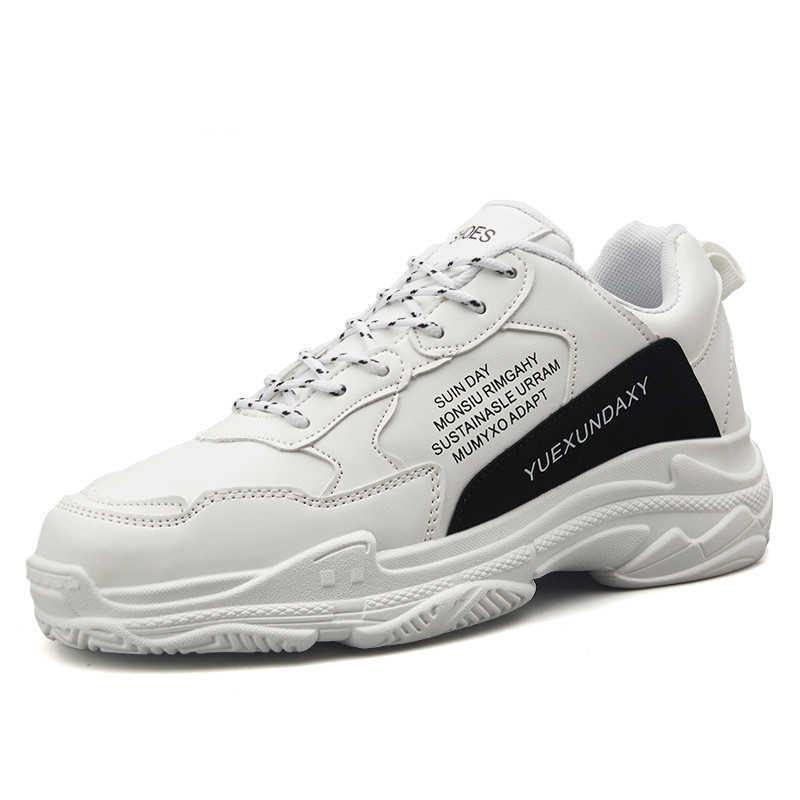 Nowa para modele buty dla mężczyzn 2019 oddychające lekkie odporne na zużycie buty antypoślizgowe wygodne luksusowe Sneaker