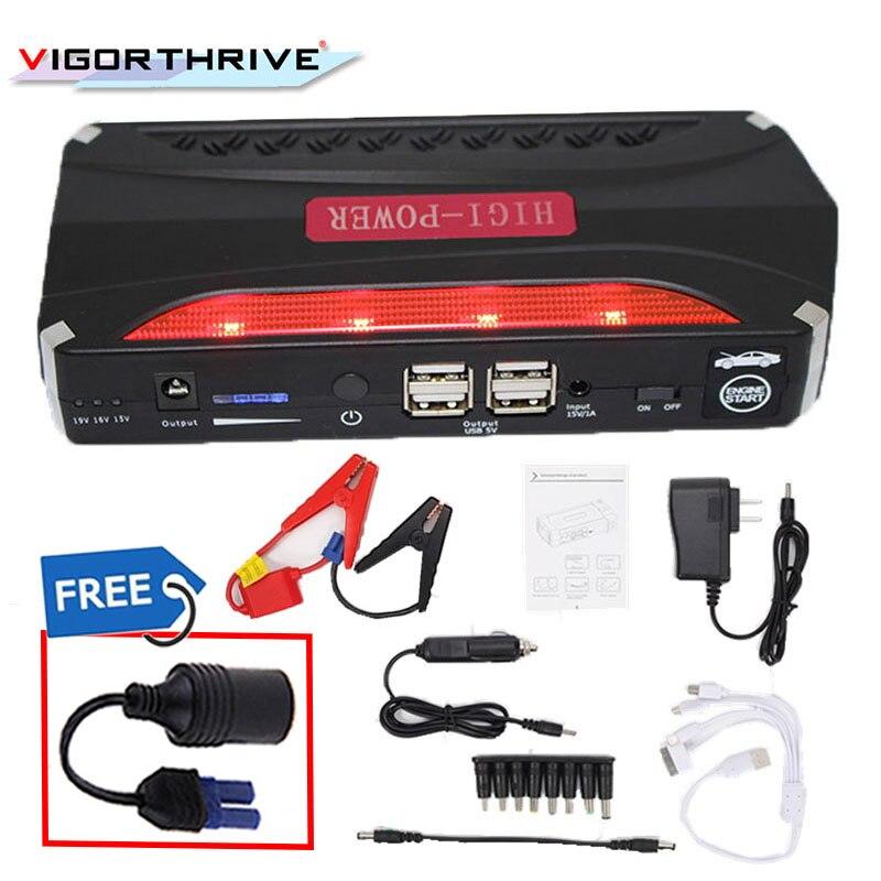 Chargeur de voiture dispositif de démarrage batterie externe voiture saut démarreur voiture Booster 12 V chargeur de batterie essence voiture Portable Mini d'urgence