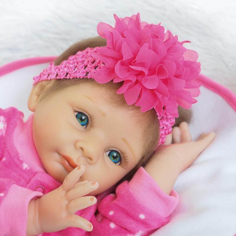 55Inch reborn baby dolls soft silicone realistic reborn dolls babies newborn girls Toys With Clothes Kids Birthday Gifts Bonecas цена и фото