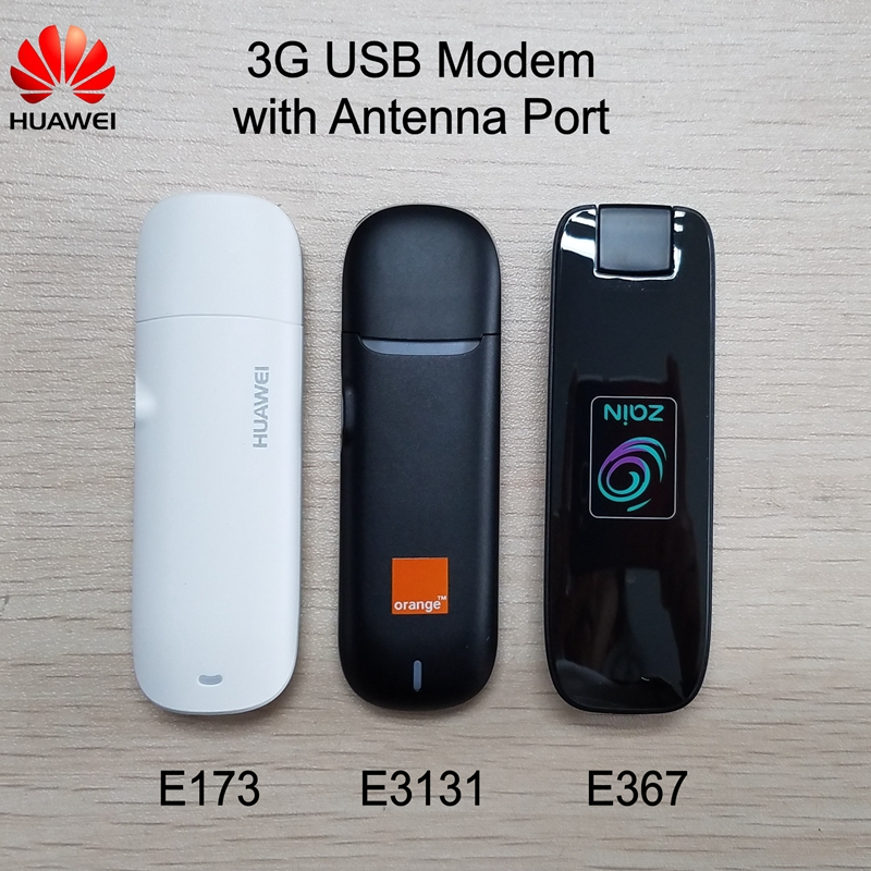 Huawei Dongle Antenna-Port 3G Usb-Modem HSDPA Unlocked E3131 WCDMA With E173 E367 Original