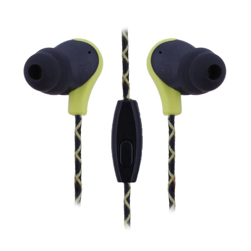ALLOYSEED Wired Earphone for IOS Android WP Noise Cancelling Driver Coil Type Stereo Sports Earphone 1.2M Wired Headphone