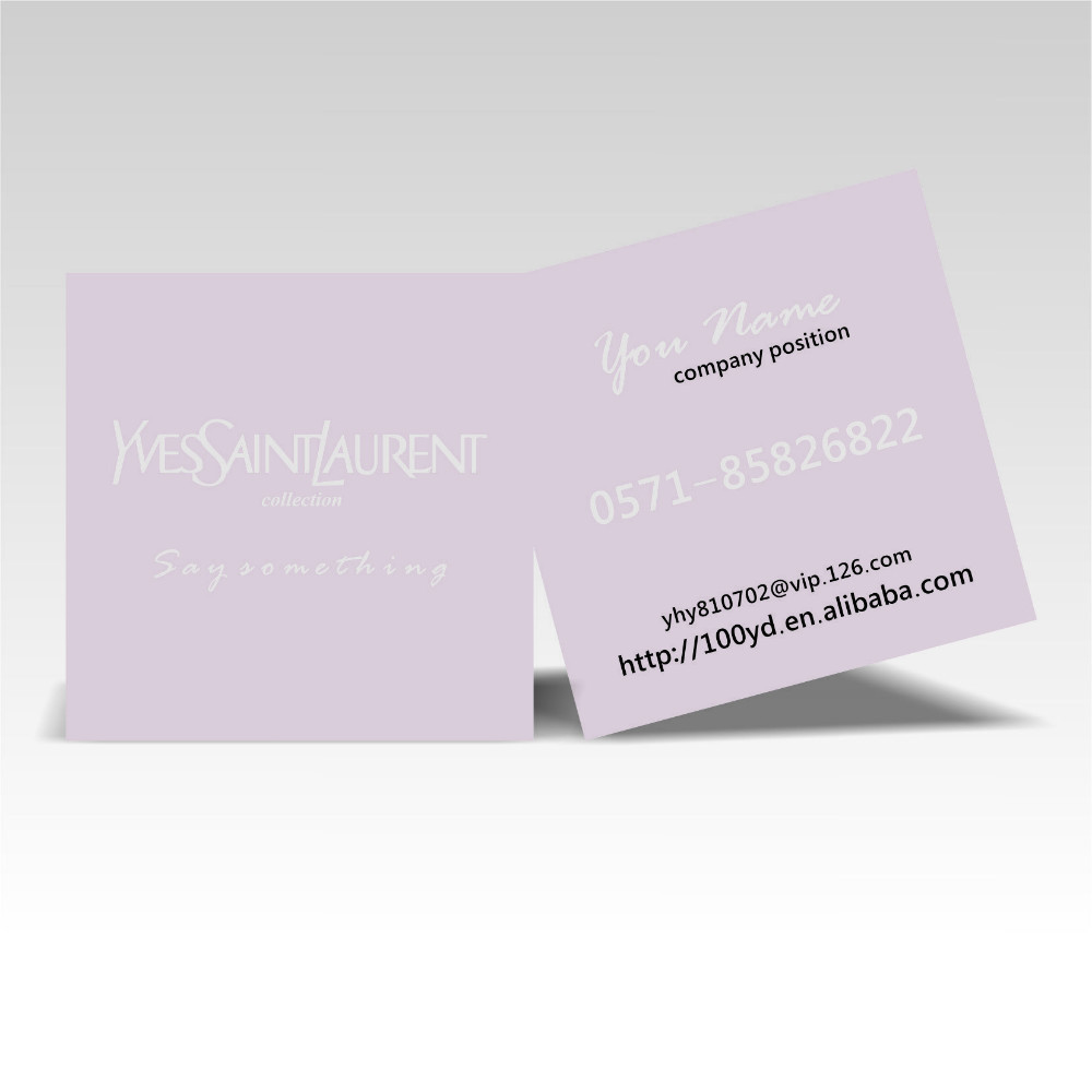 2016 Discount Price Customized Square Design Business Cards Color ...