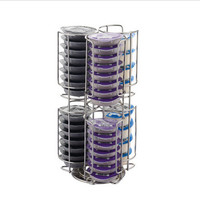 For 48/32 Cups Tassimo Coffee Capsules Holders Shelves Kitchen Storage Racks Standing 2 Models