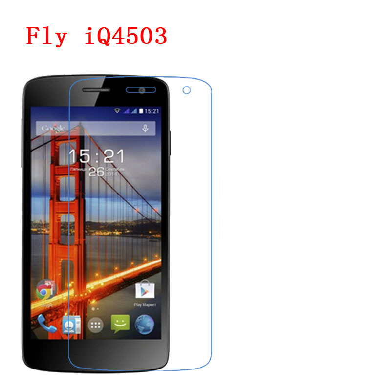 For <font><b>Fly</b></font> IQ4503, IQ4406, IQ4512, <font><b>4511</b></font>,4417, 4405,Carbon Fiber 9H Plexiglass Screen Protector