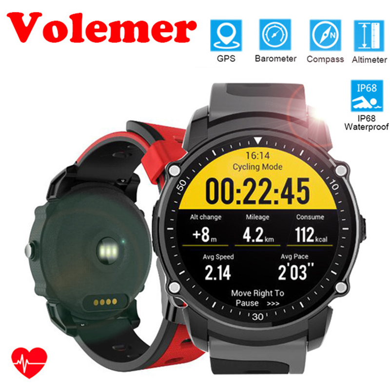 FS08 Bluetooth Smart Watch Swim IP68 Waterproof GPS Sports Fitness Tracker Stopwatch Heart Rate Monitoring Watch For Android IOS