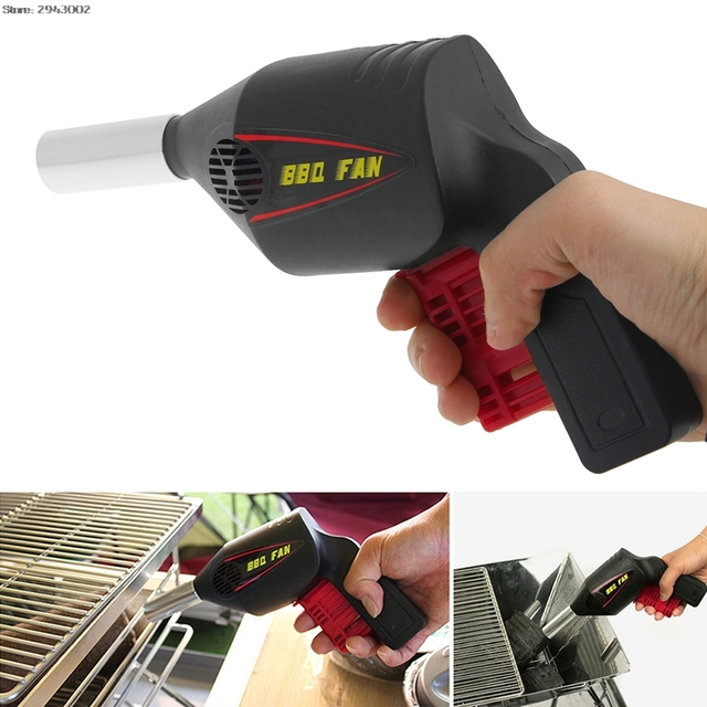 Полезные принадлежности для барбекю вентилятор воздуха воздуходувки барбекю инструменты нажатие пожарные сильфоны портативный вентилятор