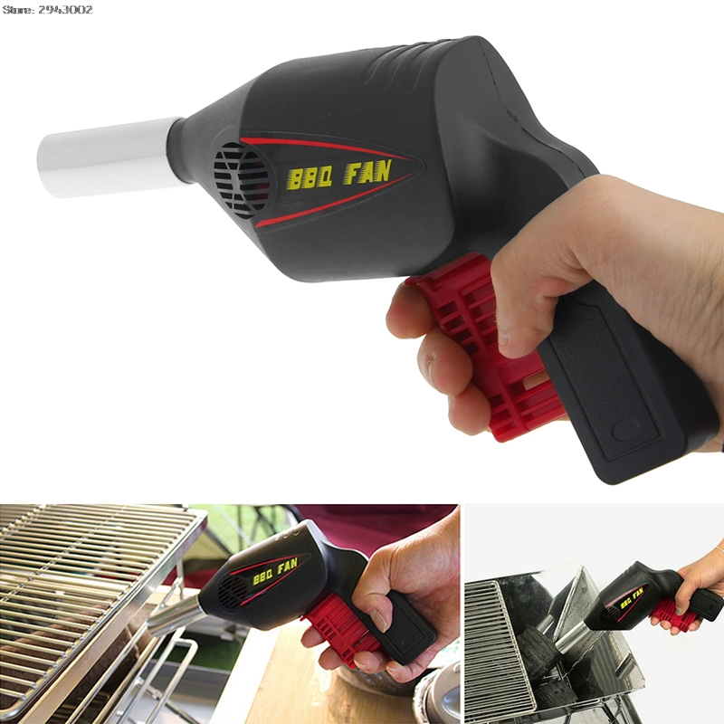 Useful Bbq Fan Air Blower Barbecue Tools Pressing Fire