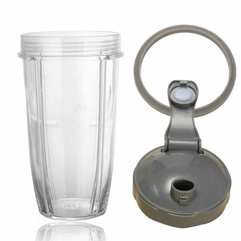 32 OZ de Plástico Transparente Xícara de Suco De Liquidificador + Tampa tampa + Anel de Vedação Junta Para Nutribullet 600/900 w Qualidade durável