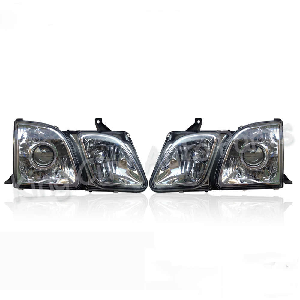 hight resolution of capqx 1pcs left or right side for lexus lx470 1998 2007 front bumper headlight headlamp