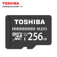 TOSHIBA 256GB U1 Memory Card SDXC max 100M/s Micro SD Card SDHC-I Class10 Official Verification TF 256G цена