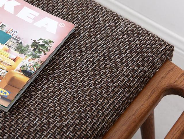 Oak Dressing Footrest Stool  3