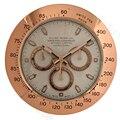 34 см металлические часы настенные часы с тихим ходом большой роскошные современные настенные часы
