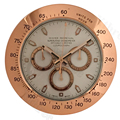 34cm Metalen Horloges Wandklok Stille Grote Luxe Moderne Wandklok