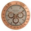 Relojes de Metal de 34cm Reloj de pared silencioso gran reloj de pared moderno de lujo