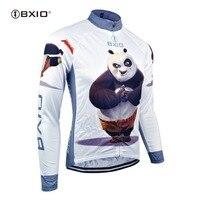 BXIO 2017 Inverno Velo Térmica Camisa de Ciclismo/Revestimento/Vestuário Tecido Desgaste Da Bicicleta Da Bicicleta ciclismo Skinsuit Manga Longa 081