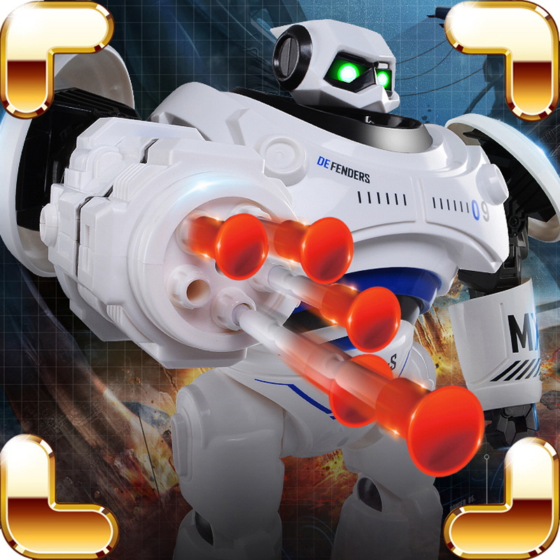 New Arrival Gift RC Robot Shooting Electric Toys Program Display Machine Creative Game Radio Control Battle Dance Learning Tool an incremental graft parsing based program development environment