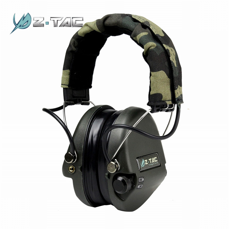 Element Z-Tactical Tactical Noise Reduction Headset Airsoft Paintball Hunting Headsets Headphone Ear Cover Z037* цена 2017