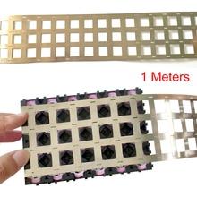 1 м Чистый Никель полоса 4P 99.96% никелевая лента высокой чистоты литиевая никелевая полоса литий-ионная батарея Ni пластина для 18650 точечной сварки