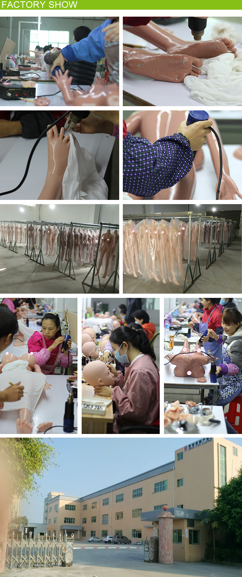 real love doll factory