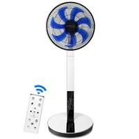 Mute Electric fans Intelligent Household silent remote control fan desktop DC frequency conversion power saving floor fan 220V