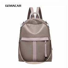 Casual Ladies Backpack Cloth Light And Simple Womens Temperament Bagpack Multi-function Female Wear-resistant