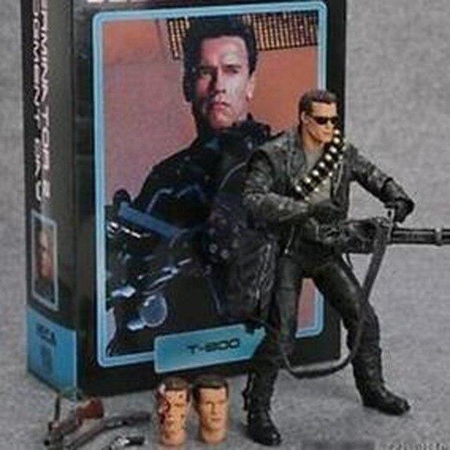 NECA O Exterminador Do Futuro T-800 Judgment Day Hospital Pescadero Action Figure Toy Modelo 17 cm