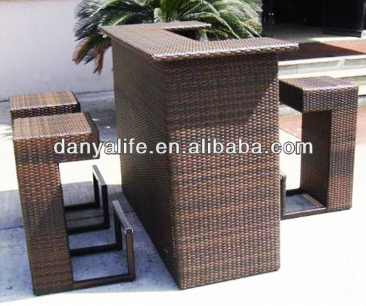Dybar D4303 Danya Garden Bar Set Stools Tables Outodor Outdoor Furniture Patio In Sets From On Aliexpress