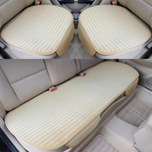 Image 1 - 車のシートカバー保温カーシートクッションアンチスキッドパッドプロテクターマット車車パッド車スタイリング