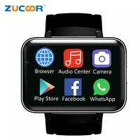 2,2 Большой Экран Смарт часы ZW98 Smartwatch Bluetooth Динамик Wi Fi/gps/WCDMA 3G Smartwatch наручные часы Android 5,1 Камера телефон