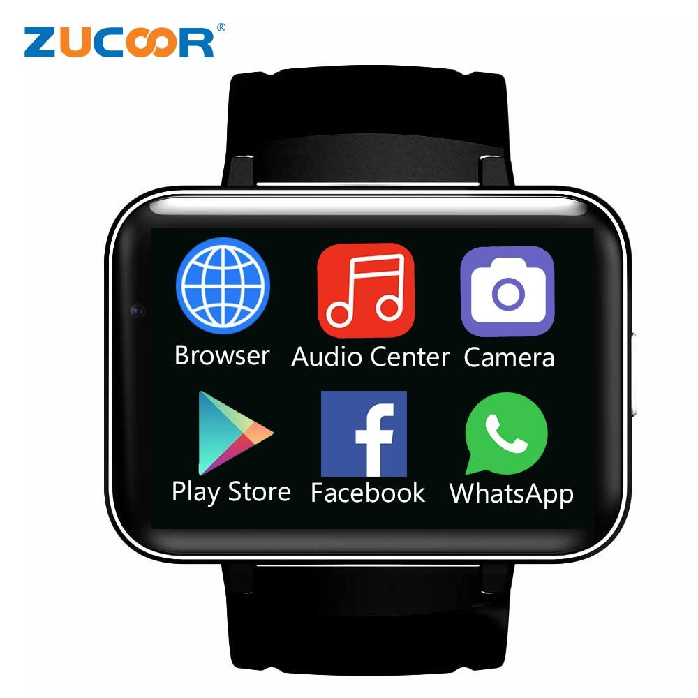 2.2 Big Screen Smart Watch ZW98 Smartwatch Bluetooth Speaker WiFi/GPS/WCDMA 3G Smartwatch Wristwatch Android 5.1 Camera Phone