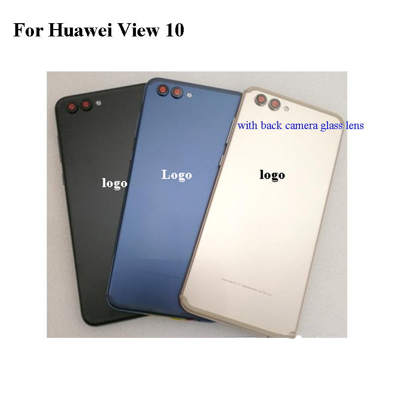 Rear Back Door For Huawei View 10 View10 Full Battery Cover Back Cover Door Housing Case For Huawei View 10 Replacment With LogoRear Back Door For Huawei View 10 View10 Full Battery Cover Back Cover Door Housing Case For Huawei View 10 Replacment With Logo