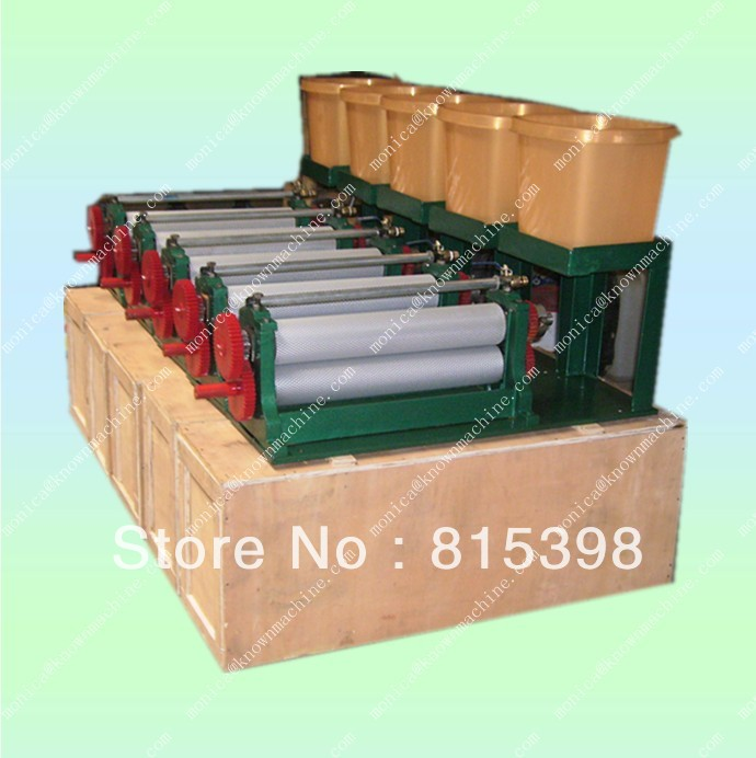 Spray Electric beeswax foundation sheet printing machine 86 310mm