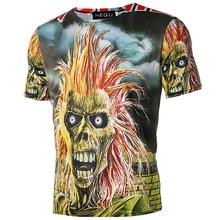 ФОТО gothic tops rock tshirts rap hip hop shirts tee clothes brand  t shirt women iron chain tshirt mummy t-shirt