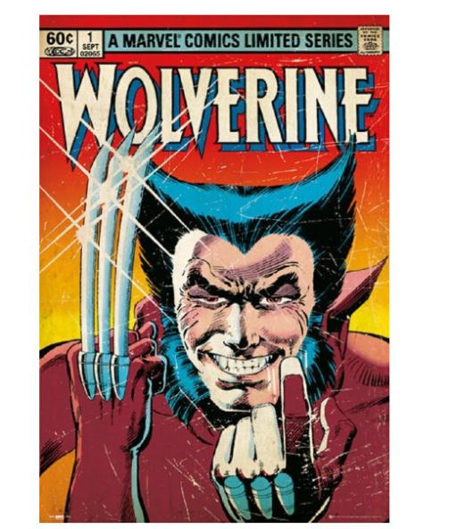 Canvas Poster Silk Fabric Wolverine Marvel Comics Custom Paper HD Pictures and Printings image