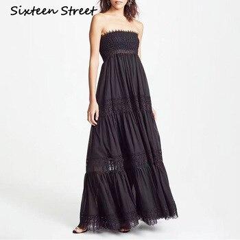 Nueva ropa de mujer vestido sin mangas blanco negro pecho elástico elegante...