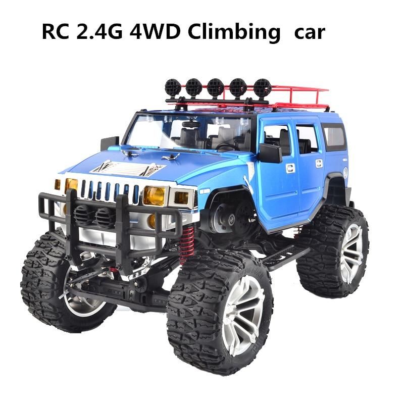 2018 1:10 Масштаб 2,4G 4WD скалолазания автомобиль RC автомобиль 4wd скалолазание автомобиль RC электрическая модель