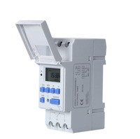 LANGIR Microcomputer Electronic Weekly Programmable Digital TIMER SWITCH Time Relay Control 220V AC 16A Din Rail