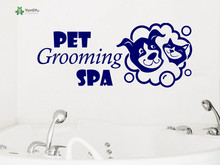 YOYOYU Wall Decal Pet Decoration Vinyl Lovely Poster Grooming wall decor Dog Salon Sticker YO210