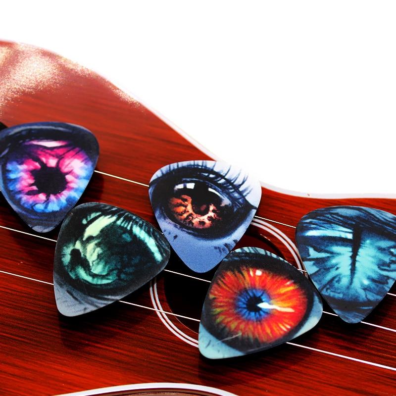10pcs 1.00mm Eyes high quality two side earrings pick DIY design guitar accessries pick guitar picks 1S1-16