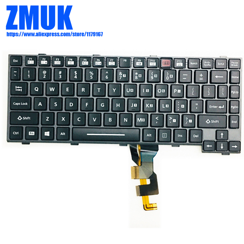 New Original Backlit US Keyboard For Panasonic Toughbook CF-29 CF -30 CF-31 CF-53 Series,P/N N2ABZY000298 SG-56020-XUA BL-HA1-US chip for hp enterprise cf 360 363x m 553x 553 n cf 362 363 new toner refill kits chips fuses free shipping