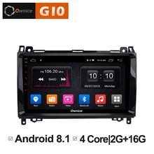 "HD 9"" Quad Core Android 8.1 Car DVD Player For Mercedes Benz Sprinter A B Class B200 Vito Viano W906 W469 W245 W169 GPS Radio(China)"