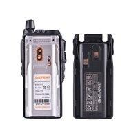 מכשיר הקשר 2pcs Baofeng UV82 מכשיר הקשר 10 KM Dual Band 136-174 / 400-520 MHz FM Ham שני הדרך רדיו UV82 CB Ham Radio Hf משדר UV 82 (5)