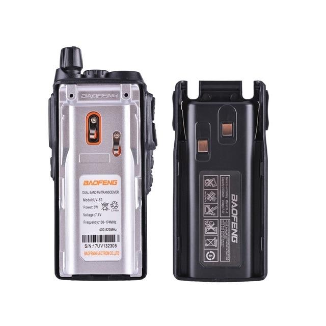 2PCS BaoFeng UV-82 Walkie Talkie 10 KM Dual Band 136-174/400-520 MHz FM Ham Two Way Radio UV82 CB Ham Radio Hf Transceiver UV 82