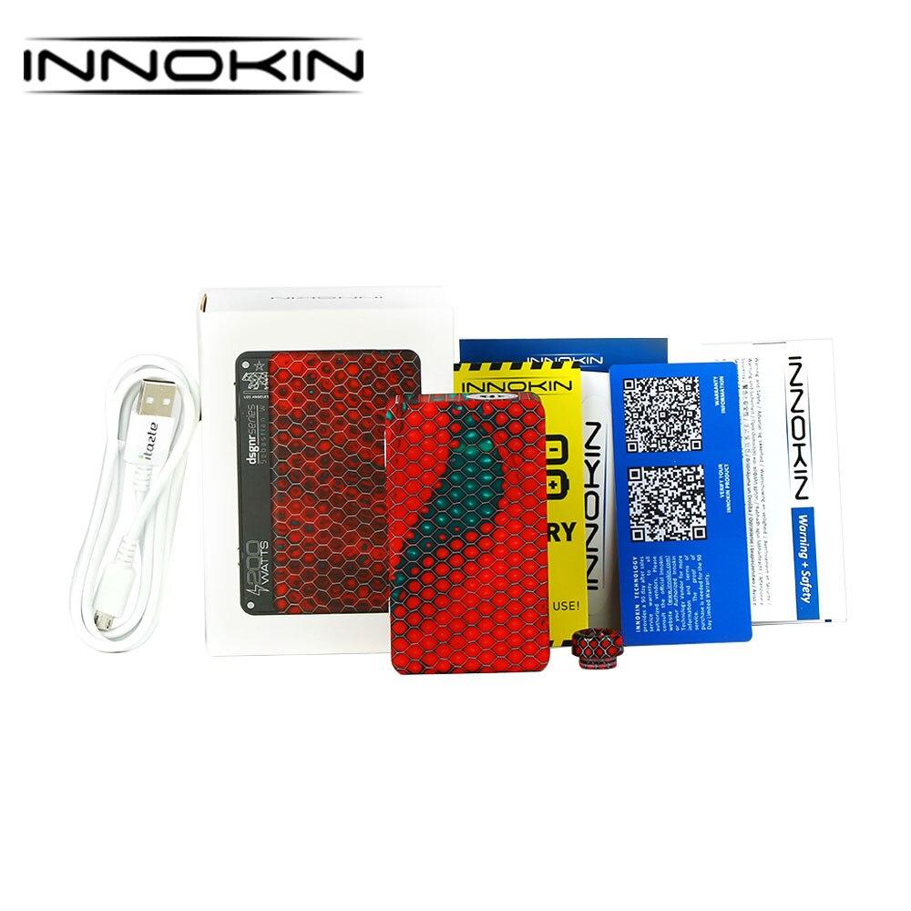 Original Innokin BigBox Atlas TC Mod 200 W boîte en résine MOD E-cigarette boîte Vape Mod VV/VW/TC Modes batterie BigBox