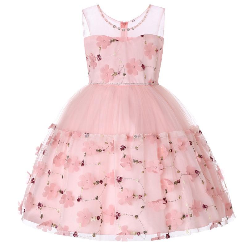 4b5f9ad0fb0 New Princess Girl Dress for Evening Prom Party Dress Teenage Girls Kids  Wedding Birthday Gown 3