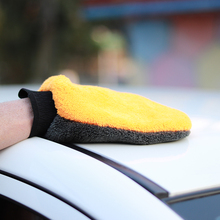 2pcs Car Wash cleaning sponge microfiber gloves For Auto Detailing