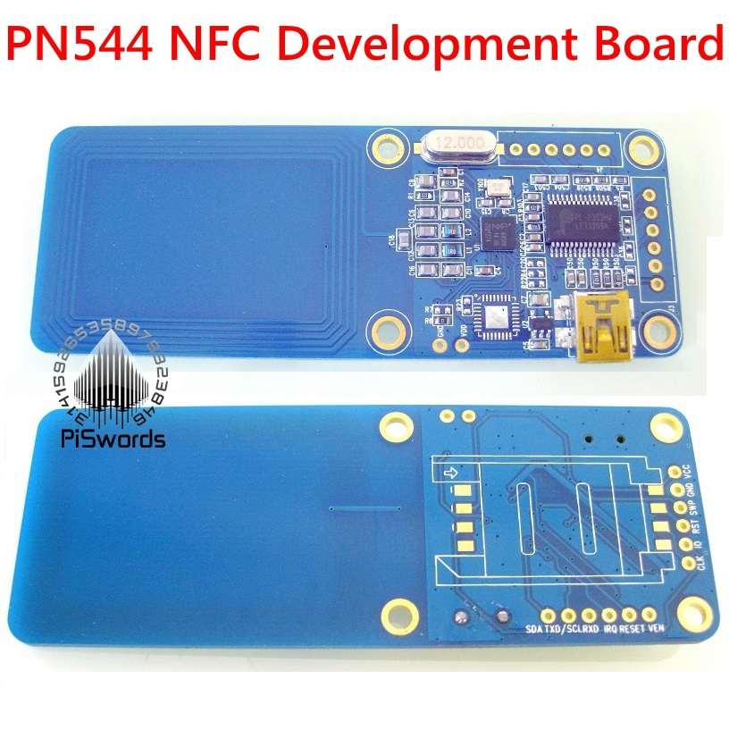 US $70 0 |NFC RFID card reader and writer PN544 Development Board tag  develop suit Kits copier hack clone crack support Android system-in Control  Card