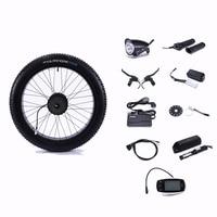 48V500Wmotor колесный Электрический велосипед электрические колеса для велосипеда комплект Электрический колесный двигатель колеса Набор для э