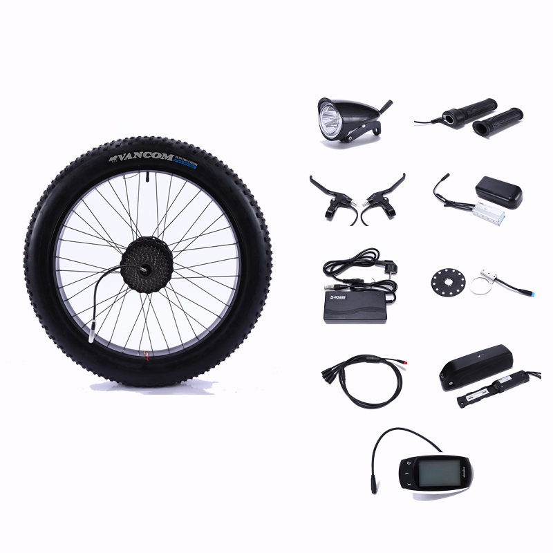 48V500Wmotor wheel electric bicycle electric wheels for bicycle kit electric wheel motor wheel set for electric bicycle motor